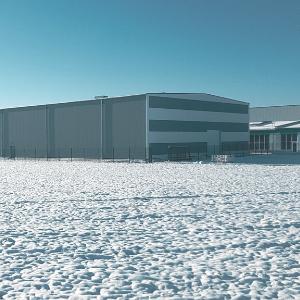 Neubau Betriebsgebäude
