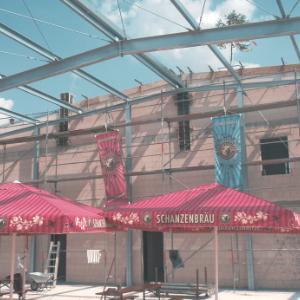 Neubau Brauereibetrieb