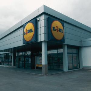 Neubau eines Lebensmittel – Einzelhandelsgeschäftes